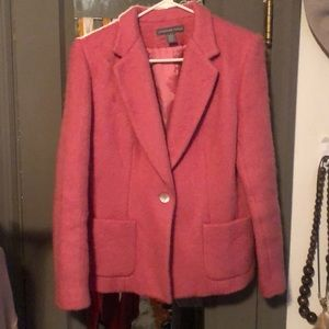 Mohair and wool blazer